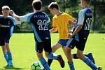 Fotbalový přípravný zápas v Úročnici, mladší žáci, kategorie U13: SK Benešov - FK Čáslav 14:5 (5:2, 6:1, 3:2).