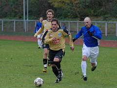 Fotbal I. A třída: Čáslav B - Pyšely 3:0, neděle 8. listopadu 2009