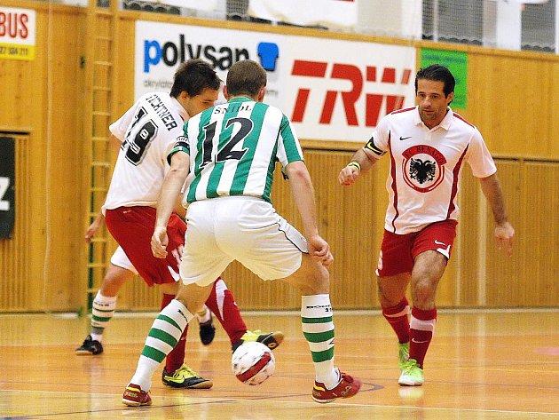 6. kolo Jetbull futsalové ligy: FC Benago - Bohemians 1905, 10. října 2010.
