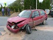 Dopravní nehoda u Staňkovic ze dne 23. března.