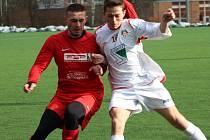 Fotbalisté Kutné Hory podlehli soupeři z ČFL, Převýšovu 0:4.