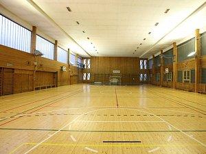Sportovní hala Bios v Puškinské ulici v Kutné Hoře.