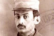 Otto Gutfreund jako legionář roku 1914