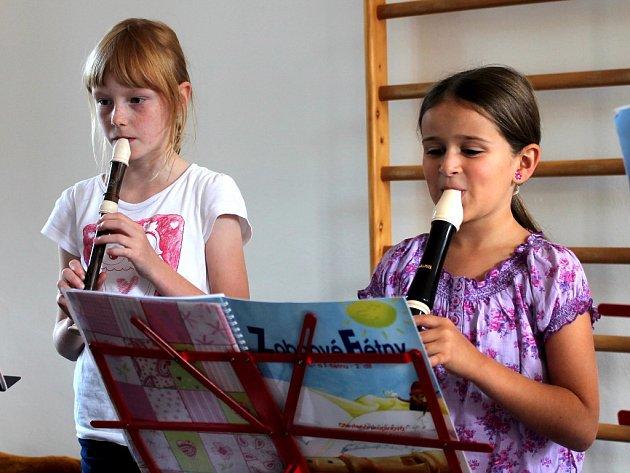 Výuka flétny v RC Špalíček