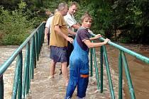 Povodeň v Močovicích, 7. srpna 2010