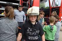 Den otevřených dveří u dobrovolných hasičů ve Zbraslavicích.