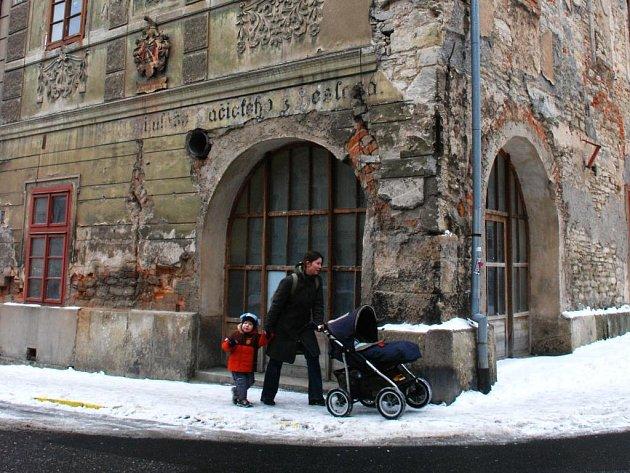 Rodný dům Mikuláše Dačického v Kutné Hoře.