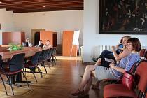 Prezentace revitalizace Vlašského dvora v Rytířském sále.