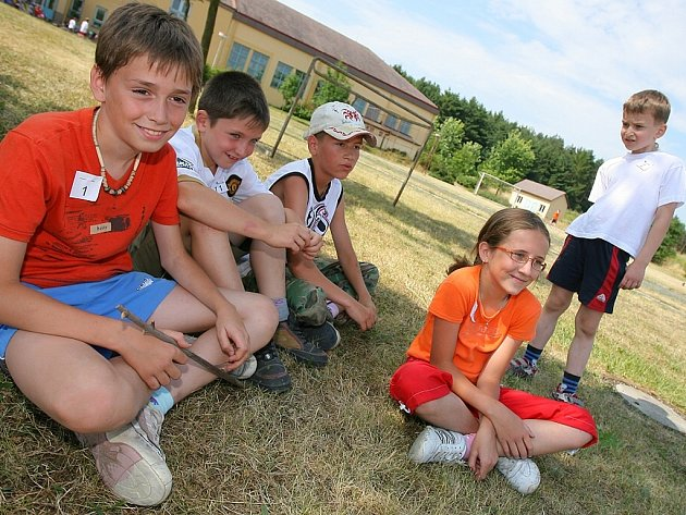 Školní olympiáda v Žehušicích.