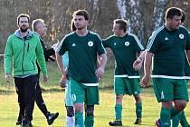 Fotbalová III. třída: TJ Dynamo Horní Bučice - TJ Sokol Červené Janovice 3:0 (2:0).