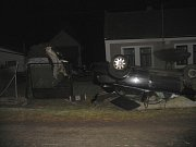 Autonehoda u Černíny 25. února 2014