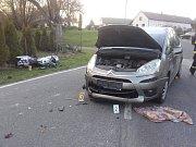 Dopravní nehoda v Košicích.