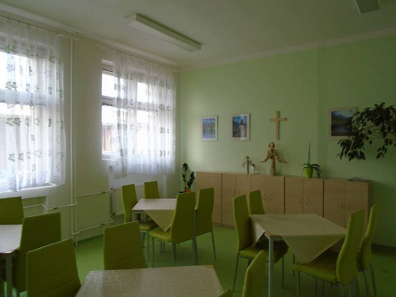 Oddělení paliativní péče v kutnohorské nemocnici.