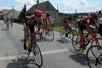 Silniční cyklistický závod Žlebský Zubr 2009.