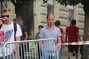 Obří skluzavka dorazila v sobotu do Kutné Hory.