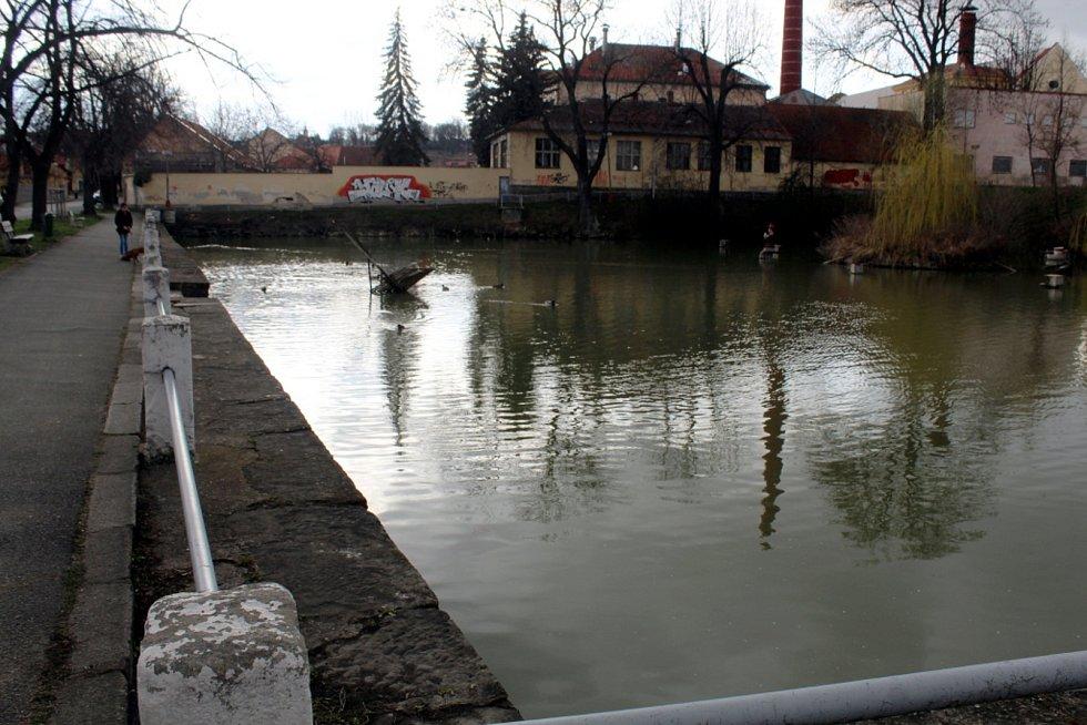 Lorecký rybník, zvaný Lorčák, v Kutné Hoře.