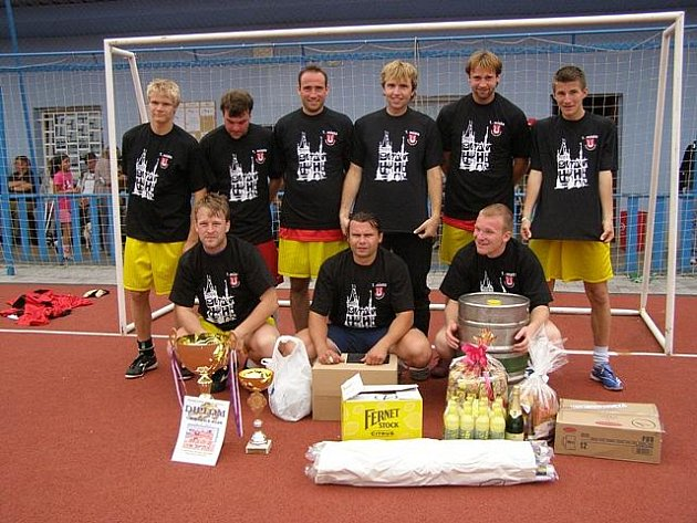 """Turnaj v malé kopané """"O putovní pohár Města Zruče nad Sázavou"""", 27. června 2009"""