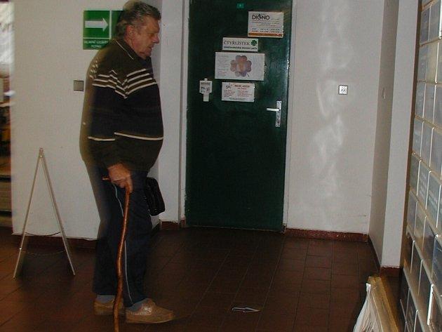 Kontaktní centrum na kutnohorské poliklinice.
