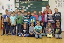 Základní škola Žižkov, Kutná Hora. Třída I.C paní učitelky Evy Frýbortové.