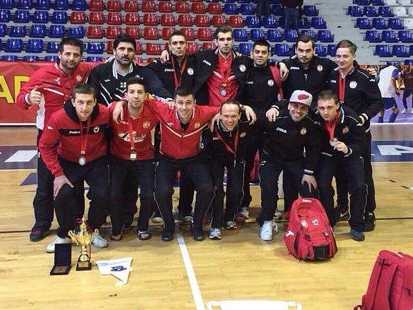 FC Benago Zruč n. Sázavou na turnaji v Kosovu.