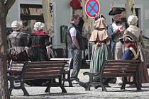 Třetí díl filmu Návštěvníci vzniká v Kutné Hoře 22. dubna 2015
