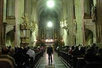 Půlnoční mše v chrámu svatého Jakuba v Kutné Hoře