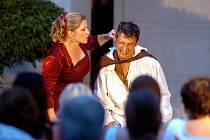 Představení Cyrana z Bergeracu na zámku Žleby