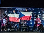 Vítězka věkové kategorie MS Spartan Trifecta Martina Fabiánová.