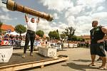 Strongman závody v Golčově Jeníkově v neděli 24. července 2021.