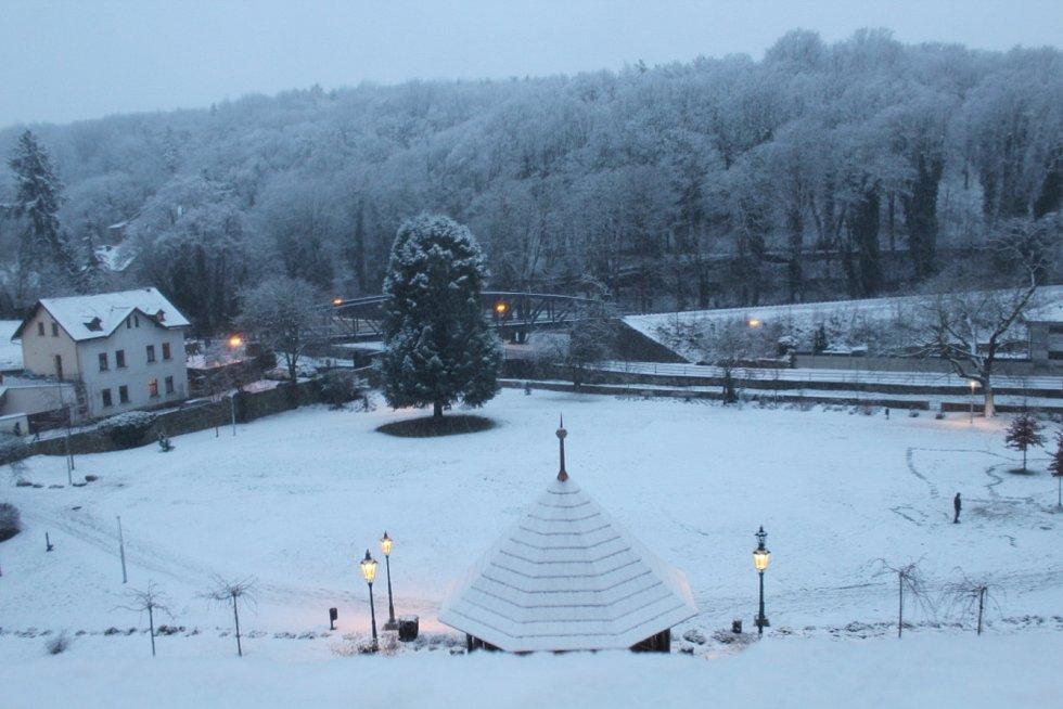 Kutná Hora pod sněhem