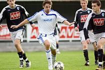 Ze zápasu I.A třídy Čáslav B - Polepy (0:0)
