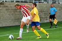 1. kolo Poháru české pošty: Kutná Hora - Chrudim 0:2, 19. července 2013.