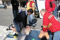 Světový den první pomoci v Kutné Hoře.