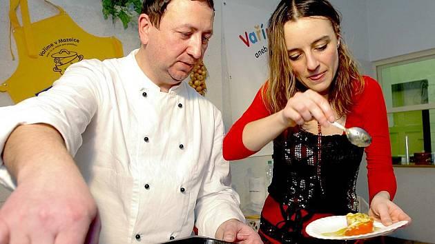 Vaření v Mozaice s Lucií Nosovou