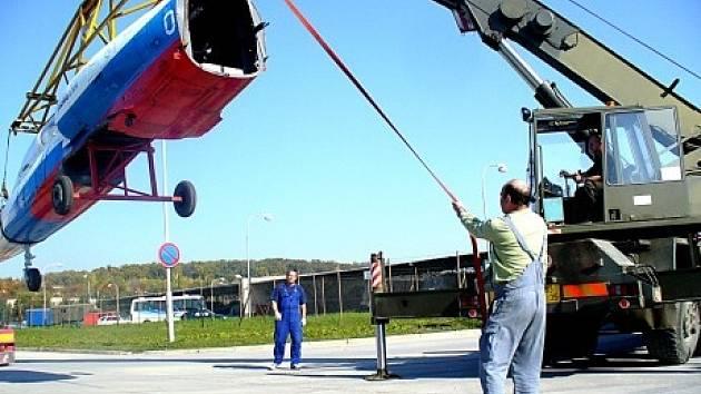 Čáslavské letiště.