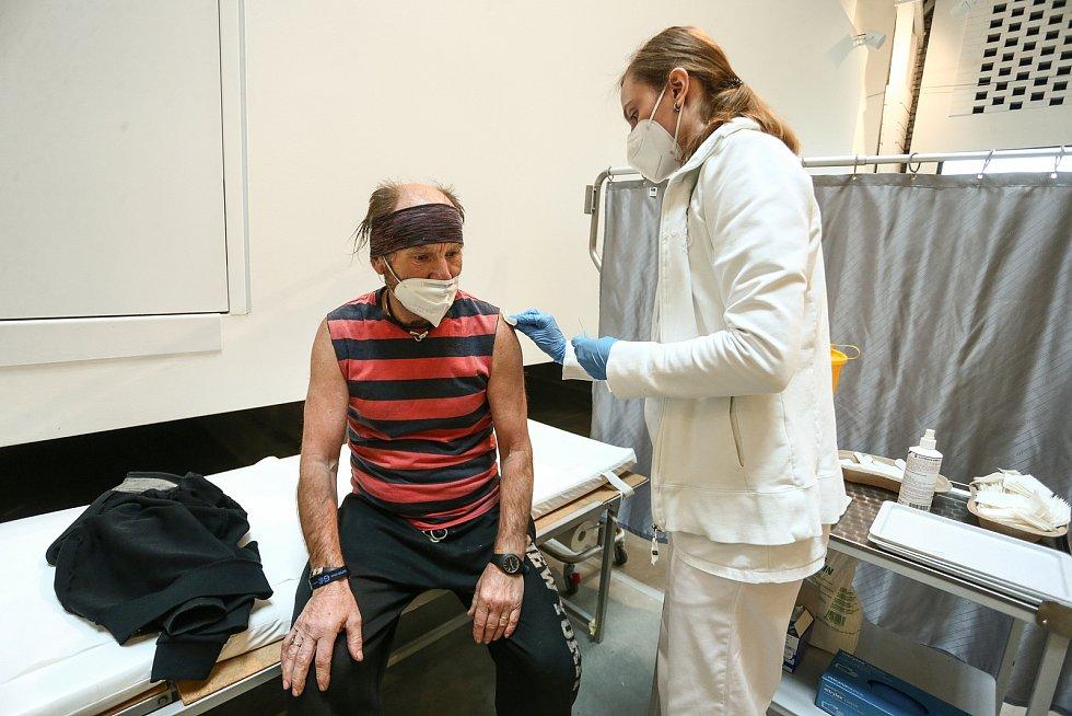 Očkování proti nemoci covid-19 v GASKu.