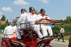 120 let od založení si připomněli šebestěničtí hasiči.