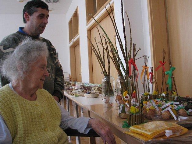 Velikonoční výstava v Domově Barbora v Kutné Hoře.