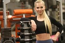 Fitness trenérka Radka Süčová.