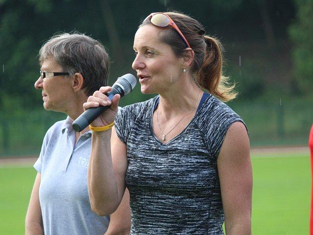 Mistryně světa v běhu na 800 metrů Ludmila Formanová.