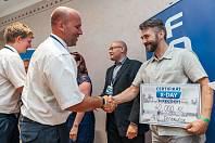 Z charitativní soutěže Foxconn X-Day v Dačického domě v Kutné Hoře.