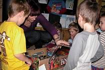 Nadělování v Mateřské školce Pohádka v Kutné Hoře.