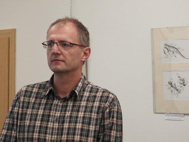 V Čáslavi přednášel o Karlu Kněžourkovi Vlastimil Osoba.