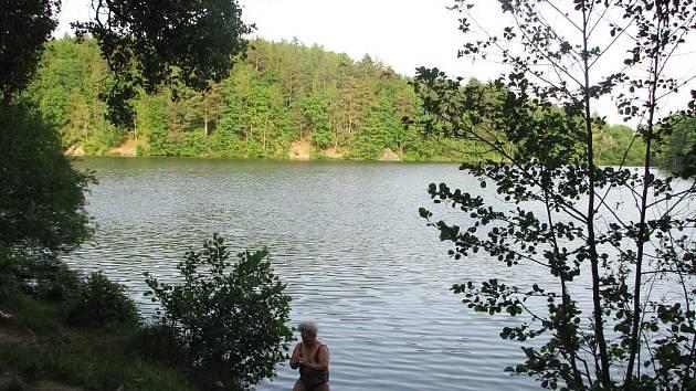 Velký rybník u Kutné Hory.