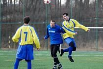 Fotbalová příprava: Suchdol - Sokoleč 0:4, 25. února 2012.