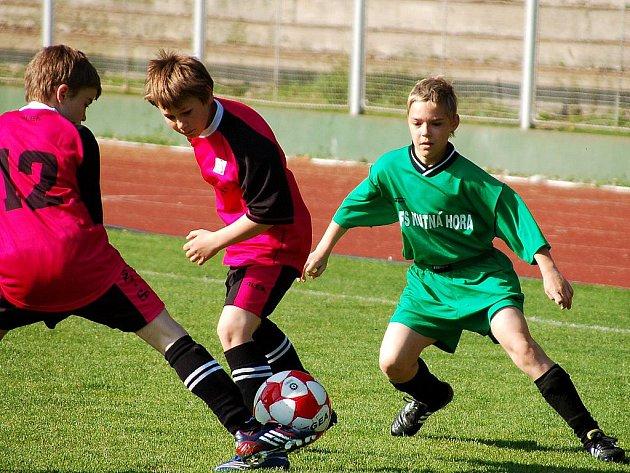 Krajské finále U-12 v Čáslavi, 28. dubna 2010.