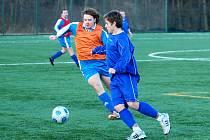 Fotbalová příprava: Kaňk - Týnec n. L. 5:3, 25. února 2012.