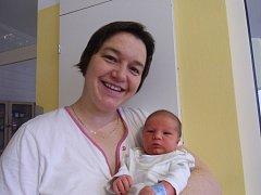 Štěpán Krištof se narodil 3. listopadu v Čáslavi. Vážil 3300 gramů a měřil 52 centimetrů. Doma v Kutné Hoře ho přivítali maminka Jana, tatínek Lukáš a bratr Vojtíšek.
