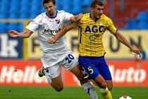 Tomáš Frejlach v utkání s Teplicemi.