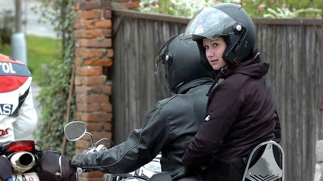 Tajný závod motorkářů